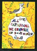 Programme Du 144e Carnaval De Granville 2018 - 27 Pages - Manche - Normandie - Normandie