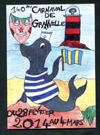 Programme Du 140e Carnaval De Granville 2014 - 27 Pages - Manche - Normandie - Normandie