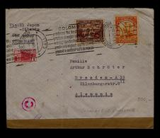 (Censored Cover Wehrmacht) Colombia - GR By Siberian 1940 Best Mild Coffee Caffè Café Koffee Gold Minerals Mines #9882 - Boissons