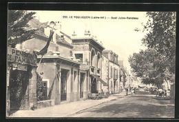 CPA Le Pouliguen, Quai Jules-Sandeau - Le Pouliguen