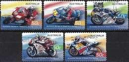 LOTE 1826  ///   (C020) Australie 2004 - Sport Motocyclisme ( Mi 2383/87 - YT 2273/77 ) Série Complète - 2000-09 Elizabeth II