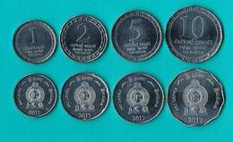 Sri Lanka Set 4 Coins - 2017 - Sri Lanka