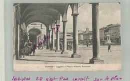 CPA  ITALIE  LIVORNO -Loggiato  E Piazza Vittorio Emanuele Jan 2019 1372 - Livorno