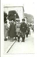 "2465 ""GERARCA FASCISTA UFFICIALE 1°RGT. ALPINI-CORTINA (BL) "" FOTO ORIGINALE - War, Military"