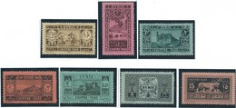 Siria-Syria -Syrie- 1925-31 CHFFRE TAXE,postage Stamp For Taxes,MNH,Very Beautiful - Siria