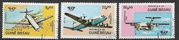 GUINEA BISSAU 1984 ANNIVERSARIO O.A.C.I. YVERT. 266-268 USATA  VF - Guinea-Bissau