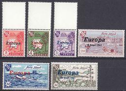 HERM ISLAND - 1961 - Serie Di 6 Valori Nuovi MNH - Europa. - Ortsausgaben
