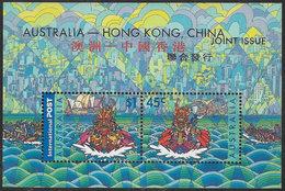 Australia SG MS2120 2001 Dragon Boat Racing Miniature Sheet Unmounted Mint [39/31902/6D] - Blocks & Sheetlets