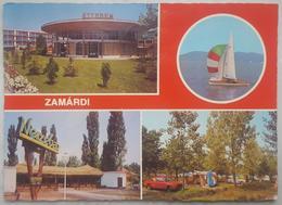 ZAMARDI - Magyar - Hungary - Multiview - Etterem Camping Boat  Vg - Ungheria