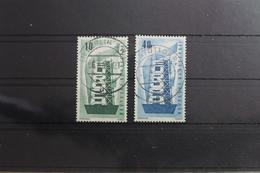 BRD 241-242 Gestempelt Vollstempel Bundesrepublik Deutschland #SI077 - BRD
