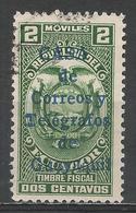 Ecuador 1934. Scott #RA24 (U) Arms Of Ecuador, Revenue Stamp ** - Ecuador
