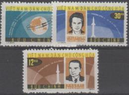 VIETNAM - 1964 Space Flights. Scott 291-293.  No Gum As Issued - Vietnam