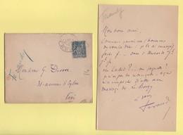 Archive De 7 Lettres - Comedie Francaise - Signatures De Francois De Curel, Robert De Flers, Maurice De Feraudy, Etc... - Autógrafos
