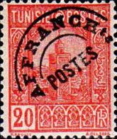 Tunisie Préo N** Yv:1 Mi:289a Grande Mosquée Tunis (Petit Def.gomme) - Tunisie (1888-1955)