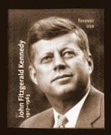 USA, 2017 Scott #5175, John F. Kennedy,  Forever, Single, MNH, VF - Ongebruikt