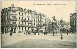 59 LILLE. Faidherbe Et Place De Bethune 1928 - Lille