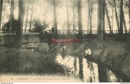60 CHAMBLY. Enfant Près Du Pont Du Coinon Dans Le Marais. Impeccable Et Vierge - Autres Communes