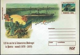Rumänien Romania 2003 - Constantza - Schiff Ship Navire - Ganzsache - Schiffe