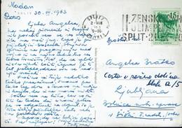 Schach Chess Ajedrez échecs - Jugoslawien Yugoslavia Jugoslavia - Split 1963 - Frauen-Schacholympiade - Schach