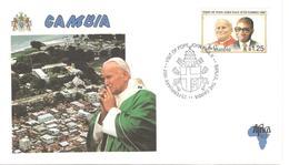 13507 - VISITE JEAN PAUL II - Gambie (1965-...)