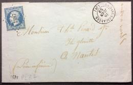 """PL87 Indre Et Loire La Haye-Descartes """"Conty Et Gillet"""" - 1849-1876: Période Classique"""