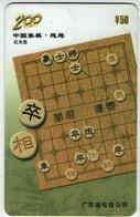 Schach Chess Ajedrez échecs - Telefonkarte - China 2002 - - Jeux