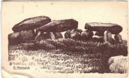 61thf  56 CPA - CARNAC - DOLMEN DE KERIAVAL - Carnac