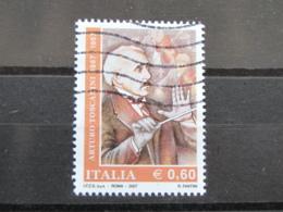 *ITALIA* USATI 2007 - 50° ARTURO TOSCANINI - SASSONE 2942 - LUSSO/FIOR DI STAMPA - 6. 1946-.. Repubblica