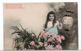CPA - FILLETTE - NOUVEL AN 1905 - Scènes & Paysages