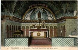 61id 424 CPA - CHARTRES - LA CATHEDRALE - CHAPELLE DE NOTRE DAME - Chartres