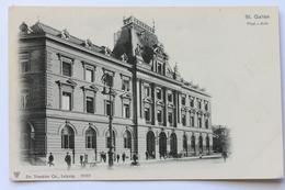 Post-Amt, St. Gallen, Schweiz Svizzera Suisse Switzerland, Early 1900s - SG St. Gall