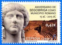 España. Spain. 2015. Segobriga. Municipio Romano - 1931-Hoy: 2ª República - ... Juan Carlos I