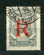 Kolumbien SCADTA Nr.40       O  Used                (016) - Colombia