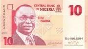 Nigeria - Pick 33 - 10 Naira 2006 - Unc - Nigeria