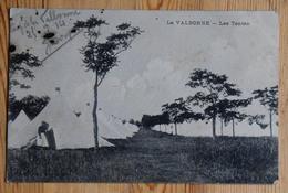 01 : La Valbonne - Les Tentes - Animée : Petite Animation - Plan Inhabituel - Camp Militaire - Taches D'encre (n°14172) - Francia