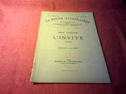 LA PETITE ILLUSTRATION °° DU 25 FEVRIER  1928 /  L'INVITE  / HENRY DUVERNOIS - Livres, BD, Revues