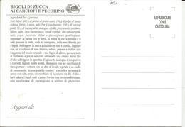 RICETTA BIGOLI DI ZUCCA AI CARCIOFI E PECORINO    (700) - Ricette Di Cucina