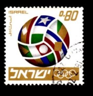 ISRAEL, 1968, Used Stamp(s) Without Tab, Pre-Olympic Football, SG Number 387, Scan Number 17387 - Israel