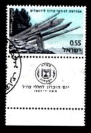 ISRAEL, 1967, Used Stamp(s), With Tab, Memorial Day,  SG Number 357,  Scannumber 17379 - Israel