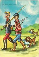 CARTOLINA UMORISTICA: CACCIATORI  (708) - Humor