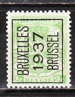 PRE321**  Petit Sceau De L'Etat - Bruxelles 1937 - MNH** - LOOK!!!! - Préoblitérés
