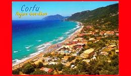 GRECIA - Cartolina Viaggiata Nel 2015 - CORFU' - Agios Gordios - Veduta - Grecia