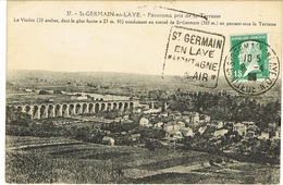 DAGUIN DE ST GERMAIN EN LAYE SUR CPA - Storia Postale