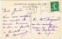 O.MEC FLIER PARIS DEPART JEUX OLYMPIQUES 1924 SUR CPA - Summer 1924: Paris