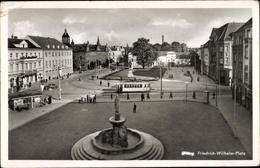 Cp Elbląg Elbing Westpreußen, Blick Auf Den Friedrich Wilhelm Platz - Westpreussen