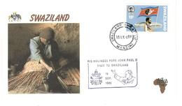 13530 - Visite JEAN PAUL II - Swaziland (1968-...)
