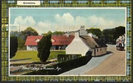 Burns' Cottage & Museum, Ayr   Série 4542  Gordon - Ayrshire