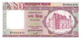 Bangladesh - Pick 26c - 10 Taka 1982 - Unc - Bangladesh