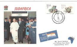 13530 - Visite JEAN PAUL II - Afrique Du Sud (1961-...)