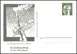 Germany - 1972 Q - Olympic Games 1972 - Stationery Card - Ete 1972: Munich